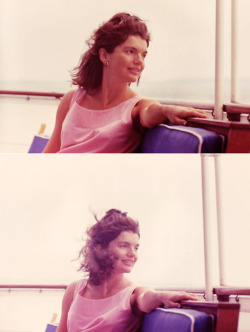 Beautiful, relaxed Jackie - taken three days before the premature, ultimately tragic, August 7th, 1963 birth of Patrick Bouvier Kennedy.