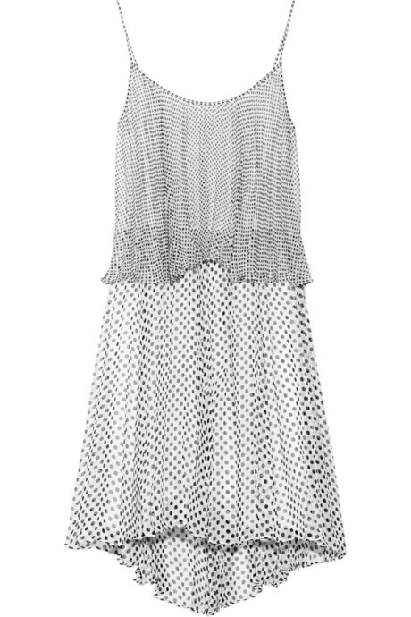 This spotted Halston Heritage frock will take you from day to night in a snap.
