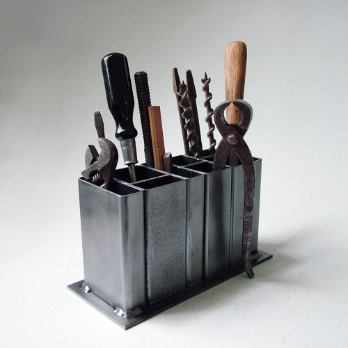 whereisthecoool:  Industrial Steel Organizer
