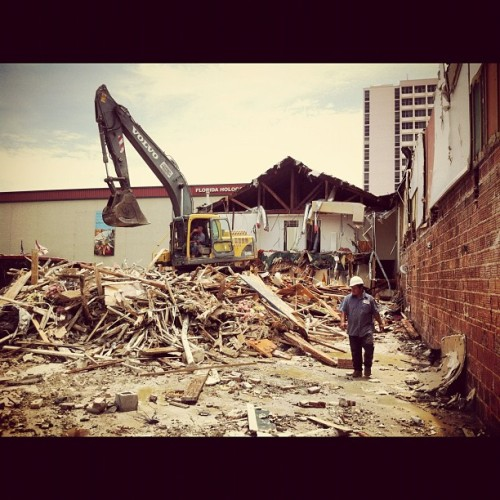 #centralavenue #demolition (Taken with Instagram)