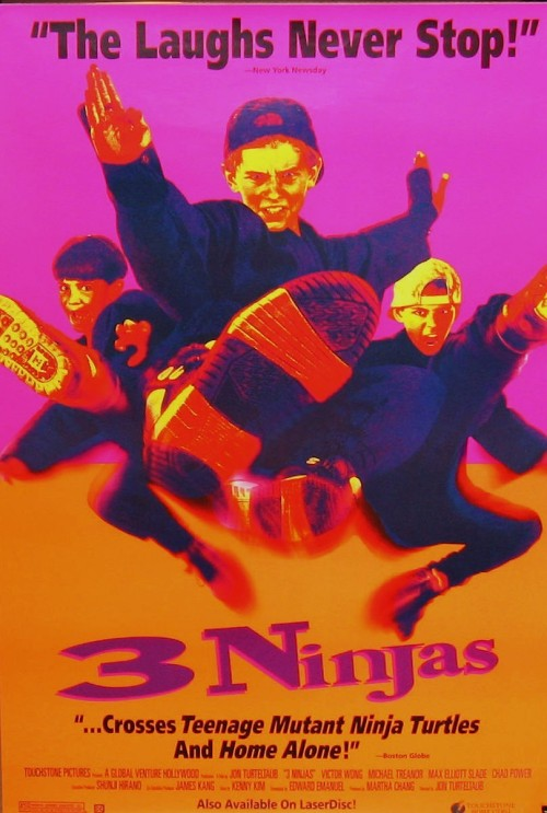 It's the 20th Anniversary of 3 Ninjas. Seriously. Read this.