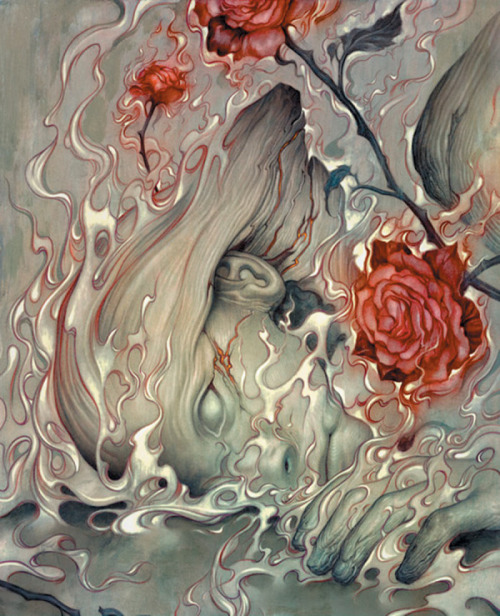 justplainmomo:  Another artwork by James Jean. Fables.