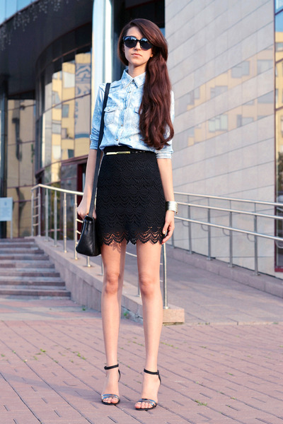 LACE AND DENIM - via CHICTOPIA