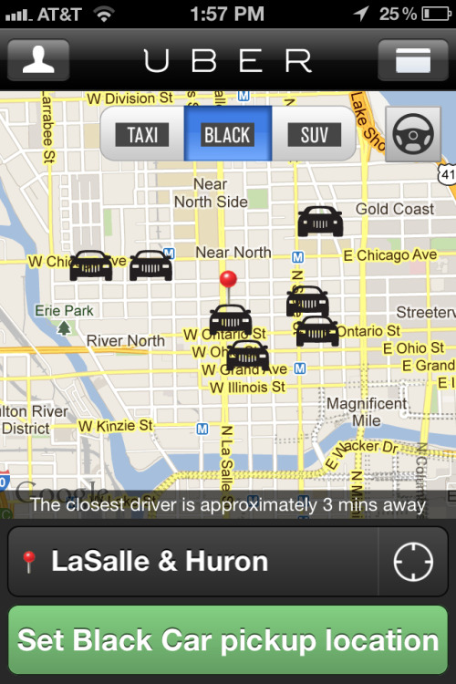 The Big Dipper #uberformations @uber @uber_chi