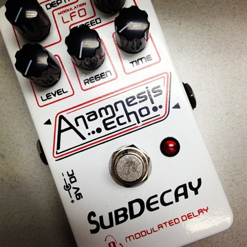 In for review: Subdecay Anamnesis Echo (Taken with Instagram)
