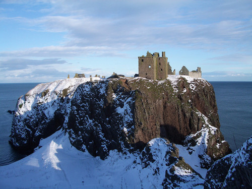 Dunnottar Castle by Looby lou on Flickr.