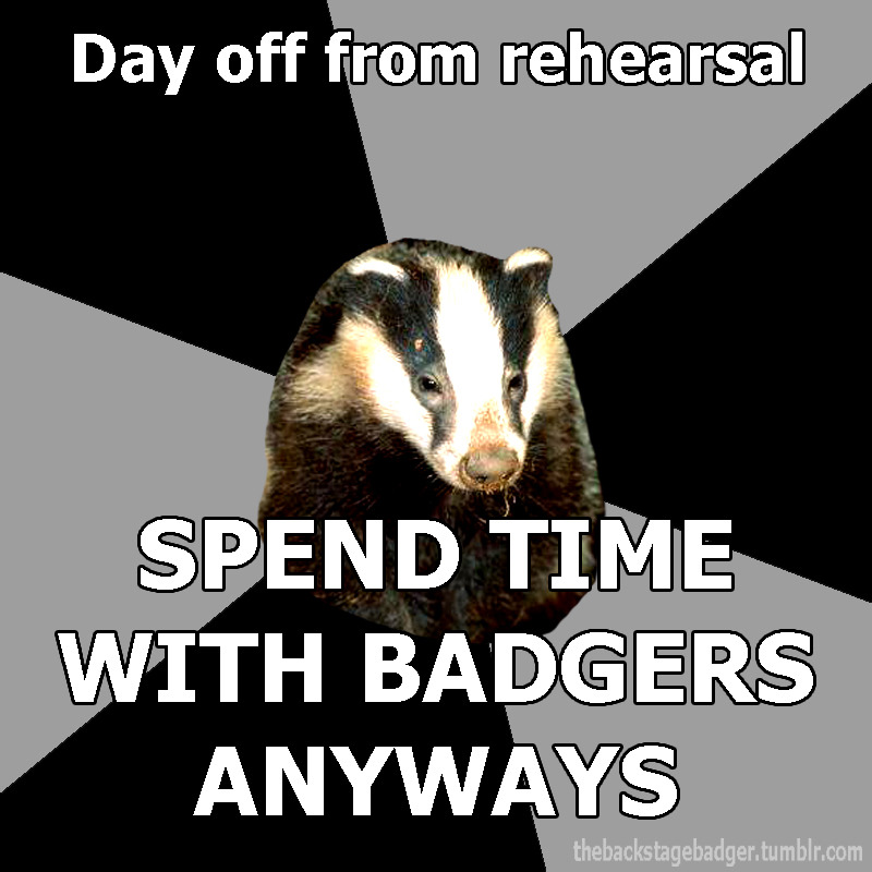 thebackstagebadger:  Submitted by dustoffyourshoes  THANK YOU FOR DOING THIS, KAT.