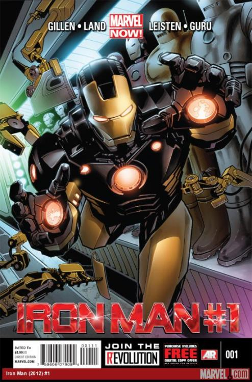 Iron Man #1 Part of the Marvel NOW! relaunch