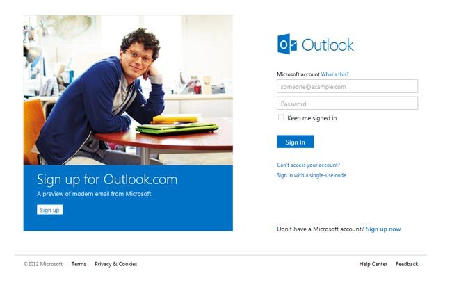 "With Hotmail quickly turning into a web-based email service that is ""so last year"", it was no surprise that Microsoft felt the need to refresh its image. And so, I was happy to hear that Hotmail.com is now Outlook.com, which is not only incredibly modern and minimalistic, but also integrates seamlessly with Facebook & Twitter and has built in Office apps (Word, Excel and Powerpoint - oh my!). If you're still not ready to switch from the bore that is Gmail (#justsaying) I suggest having a quick peek at the new interface and perhaps testing it out as an alternate email for all the stuff you wish to keep separate from your everyday inbox. Either that or you can start a new account for the sake of having a brand new, clutter-free inbox for once. Everyone could use a bit of that.  - Julia"