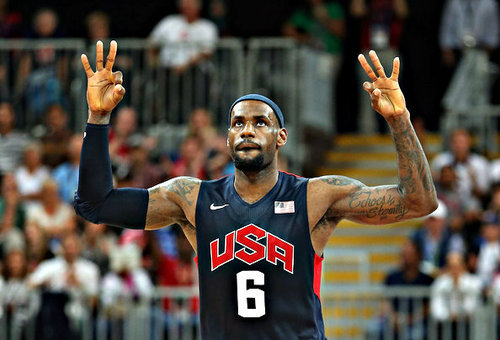everythingyntk:  Team USA basketball player LeBron James