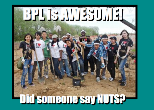 Kristi's meme features the BPL team!