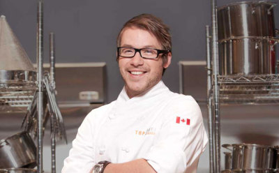 He's my babe.  Jimmy Stewart. Top Chef Canada.