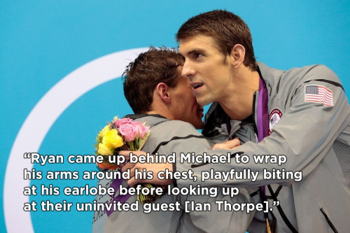 Michael Phelps and Ryan Lochte fanfic.
