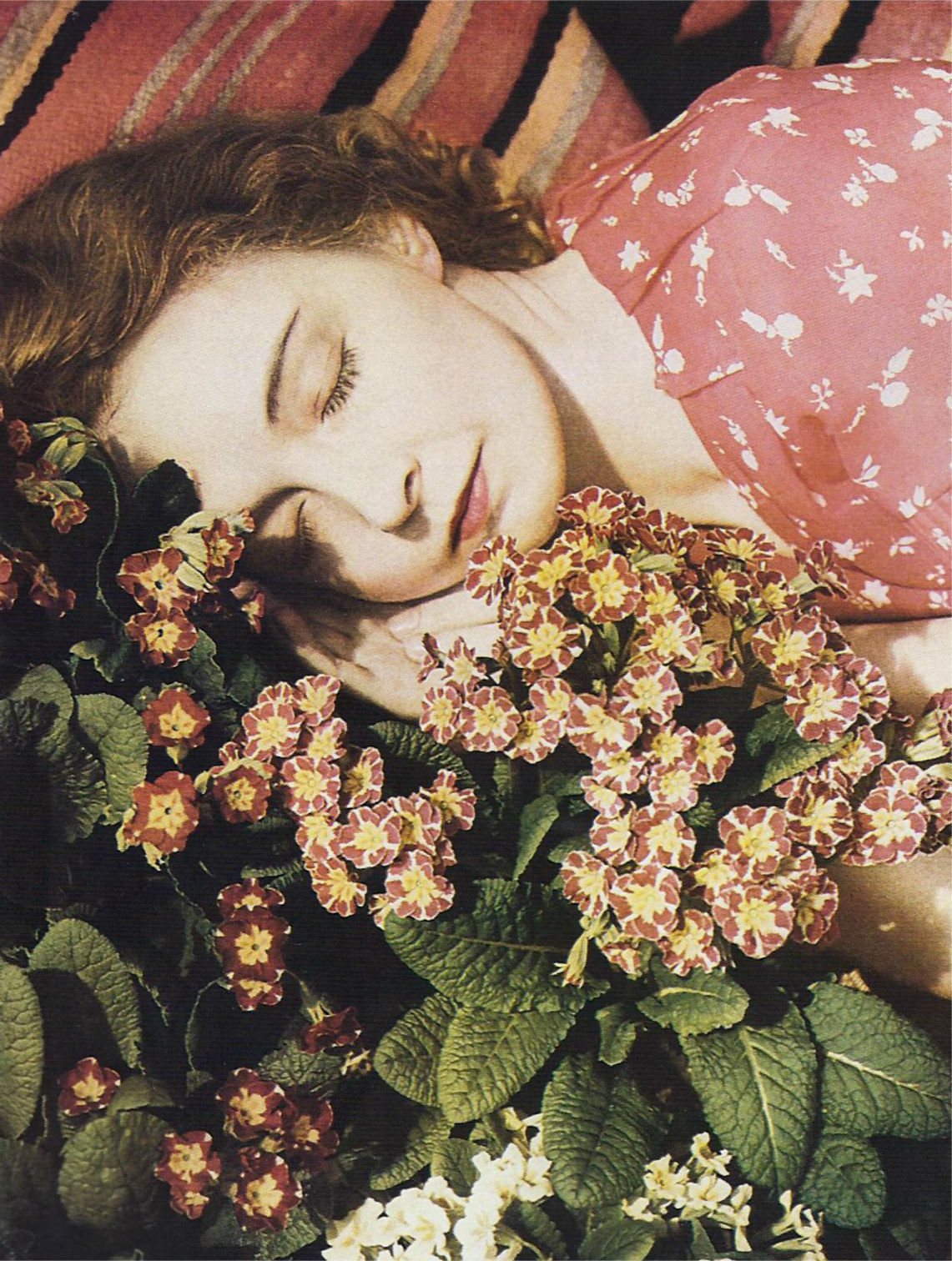 Lillian Gish Photographer Edward Steichen captured the actress in an early colour rendering for Vanity Fair's December 1932 issue