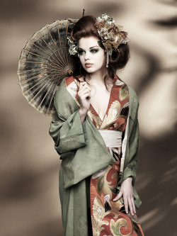Geisha by Koukei on DeviantART