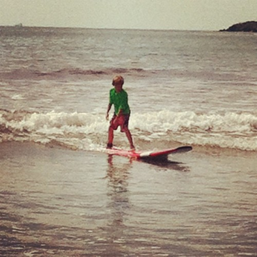 #surf #kids #beach #in1 #summer #surfer  (Taken with Instagram at First Beach)