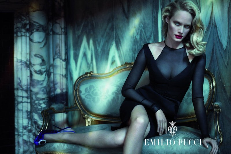 Amber Valletta for Pucci Fall 2012, shot by Mert & Marcus…. hands down one of the best campaigns I've seen yet. Now if Revenge would just get back on the air so I can watch Valletta as Lydia Davis! #guiltypleasure -RS