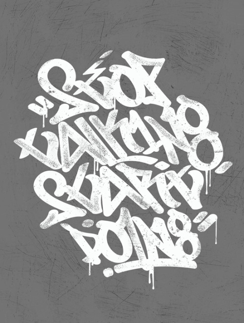typeverything:  Typeverything.com 'Stop Talking, Start Doing' by Kendrick Kidd for HelpInk.