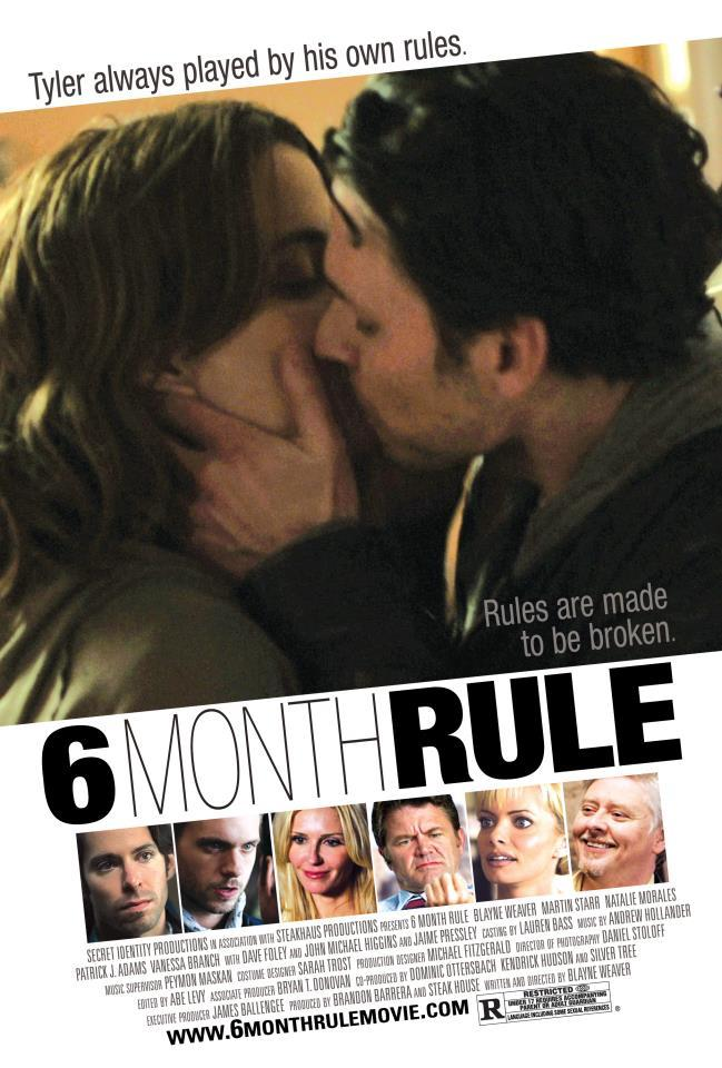 As of today, 6 Month Rule is available on iTunes, Amazon instant and Video on Demand. Go get it!