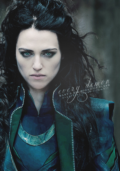 My name is Reyn, and I approve of this fem!Loki casting.