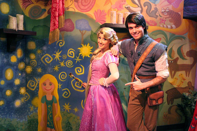 Rapunzel and Flynn by Jane's Jubilee on Flickr.