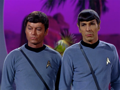 """You are, after all, essentially irrational."" - Spock, on humans"