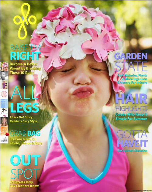 "©Priscilla Gragg 2012 Check it out! Cover of GLO this week featuring a photo of mine that i took from my niece. Her reaction when she saw the photo was ""Wouldn't that be funnier if it were a photo of my butt"" hahaha, gotta love kids right?"