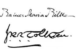 Rainer Maria Rilke - J.R.R. Tolkien