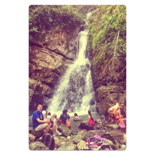 Waterfall. :3 (Taken with Instagram at El Yuque)