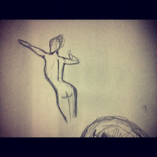 🎵wide awake - Katy #sketch #fun #drawing  (Taken with Instagram)