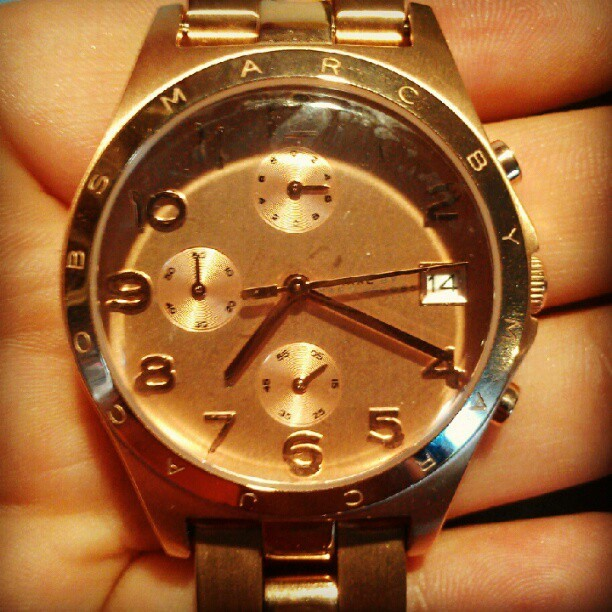 @asimisdope thanks for my new watch ;)  (Taken with Instagram)