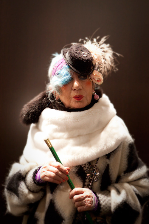 art-pray-shop:  RIP Anna Piaggi, Fashion's Eccentric, Brilliant, Inimitable Bird Of Paradise  Fashion writer and personality, Anna Piaggi has died early this morning. She was 81 years old. To anyone who's seen her before, whether in person or in photo, was to instantly know her forever; her melange of surrealism, high glamour, and punk was inimitable, though people always tried.
