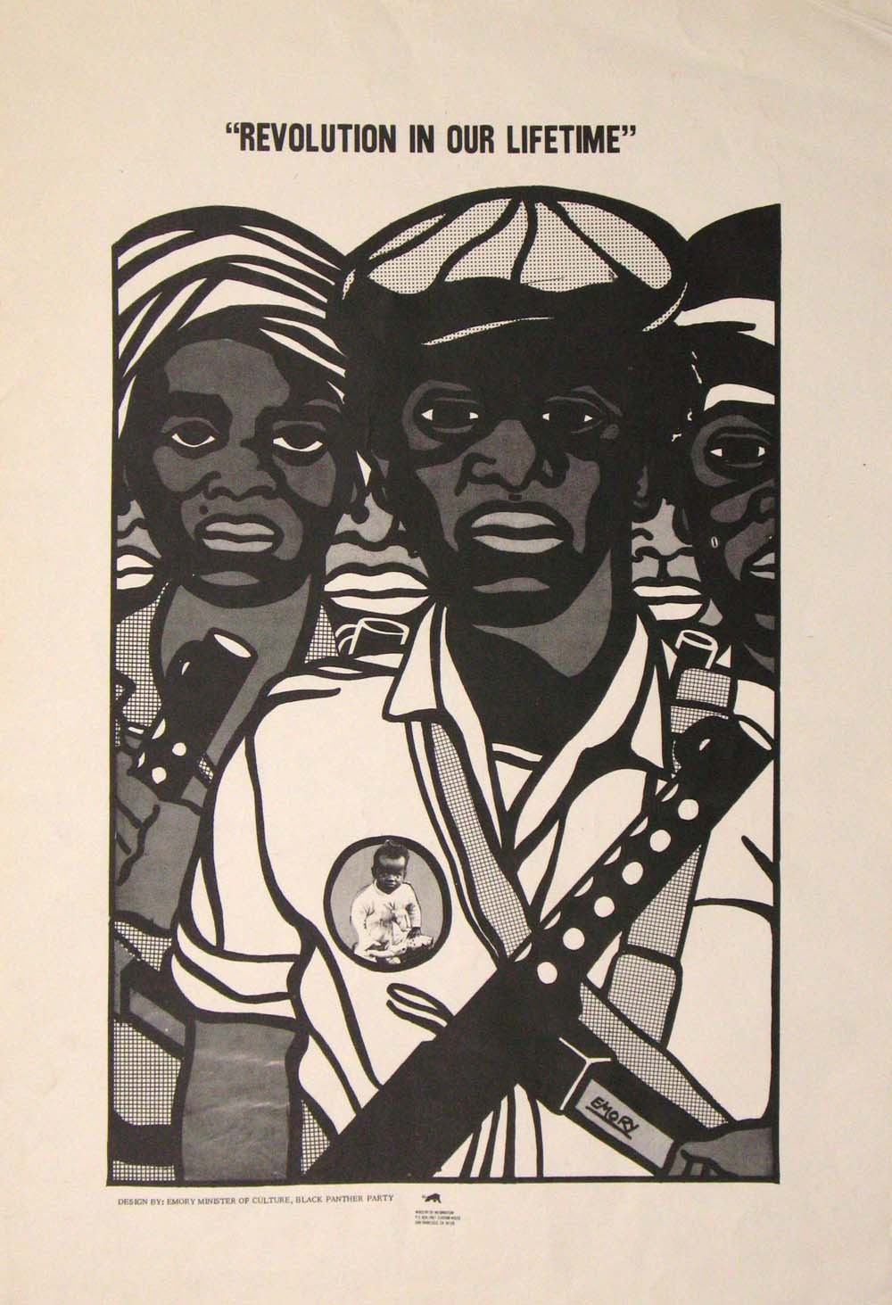 Revolution In Our Lifetime (1969) Emory Douglas