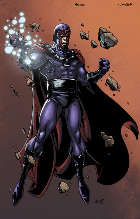 Ultimate Magneto // artwork by Jonboy Meyers and Logicfun (2012)