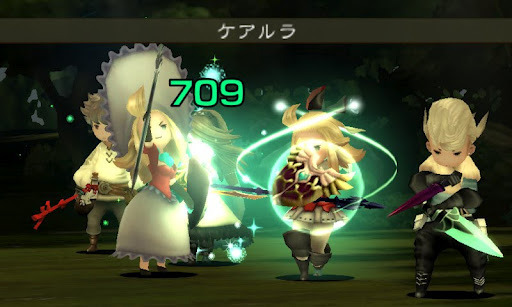 "Bonuses and Details. That's what this Bravely Default: Flying Fairy Post is all about.  Equipment  There are a bunch of freebies that you can get when you buy the Nintendo 3DS game Bravely Default in specific condtions:  If you buy it on October 11, the game's release date in Japan, you'll be getting the ""Orthodox Knight"" equipment for the heroine.  If you buy the game's soundtrack (October 10,) you'll have a Suppin (Freelancer) outfit. It will be your outfit whatever job you currently has.  If you buy the the game's theme song, you'll be getting the equipment ""Noble Composer"" which is for Ringabel. Source: http://www.n-handhelds.com/2012/08/bravely-default-3ds-jobs-equipments.html"