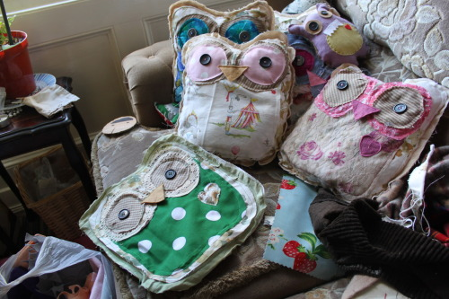 Made more owls today!