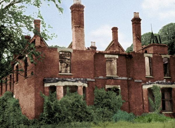 tea-and-skeletons:  Borley RectoryThe derelict building in the photo above is not a place to enter lightly. Though the small village of Borley, near Sudbury, UK, is not the sort of place one would associate with ghosts, it has a dreadful reputation because it was the site of the infamous Borley Rectory, reputedly the 'Most Haunted House in England'. Built in 1863 for the Reverend Henry Bull, it sits on the site of an ancient monastery. The ghost of a mournful nun who patrolled the so-called 'Nun's Walk' had often been seen there. An old story claimed that she had fallen in love with a monk from the Borley Monastery – to much outrage – and the two had tried to elope together but had been quickly tracked down. The monk was executed and the nun bricked up in the cellars of the monastic buildings.