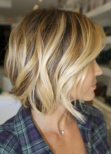 This makes me want to quit growing my hair out and chop it off. And dye it.