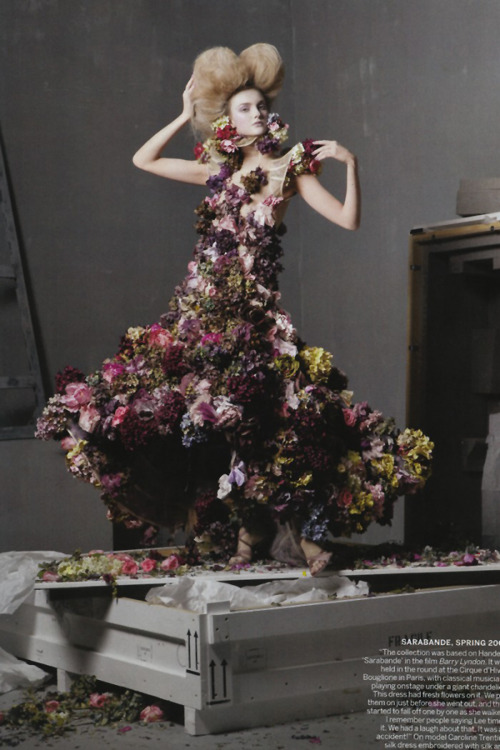 Alexander The Great by Steven Meisel for Vogue US May 2011