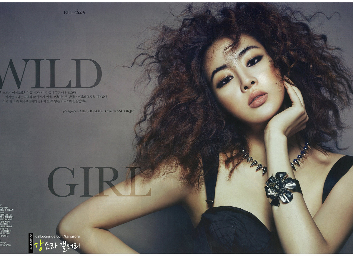 Kang Sora – Elle Magazine August Issue '12