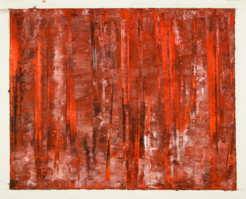 "mattniebuhrdrawings:  untitled (murder in the red barn #5)2012_07_30oil pastel on paper11"" x 14"" (27.9 x 35.6)cmMatt Niebuhrwww.mattniebuhr.comshop.mattniebuhr.com ""…road kill has its seasons just like anything. It's possums in the autumn and it's farm cats in the spring…"" T. Waits Happy to be sending this out soon to a collector in Sweden - Thank-you!"