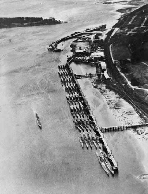 collective-history:  Surrendered German U-boats gathered at Lisahally, Northern Ireland, June 1945