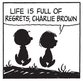 fantagraphics:  Panel from The Complete Peanuts 1985-1986 (Vol. 18) by Charles M. Schulz.