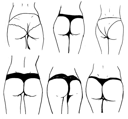 Butt Study #1 *Now available to buy!*