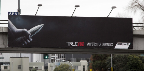 True Blood, Vampires for grown ups. Prime Billboard
