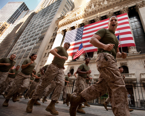 Marines Lead Run to Ground Zero — Fleet Week New York 2011 by NYCMarines on Flickr.