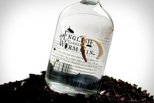 surplus-mag: English Garden Worm Gin