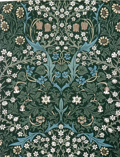 cavetocanvas:  William Morris, Blackthorn, 1892