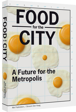 Food for the City: A Future for the MetropolisIn 2050 nine billion people will be living on earth, 75 percent of them in cities. If we continue along this trajectory, we will need several extra planets for the production of our food. Food for the City offers a catalogue of visions for the future of urban food systems, with contributions from a chef, an architect, a farmer, an artist, a philosopher, and others engaged in this global predicament.