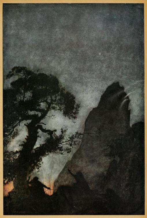 themetropolitanline:  venusmilk: Siegfried & The twilight of the gods (1911)Illustrations by Arthur RackhamThe three Norns